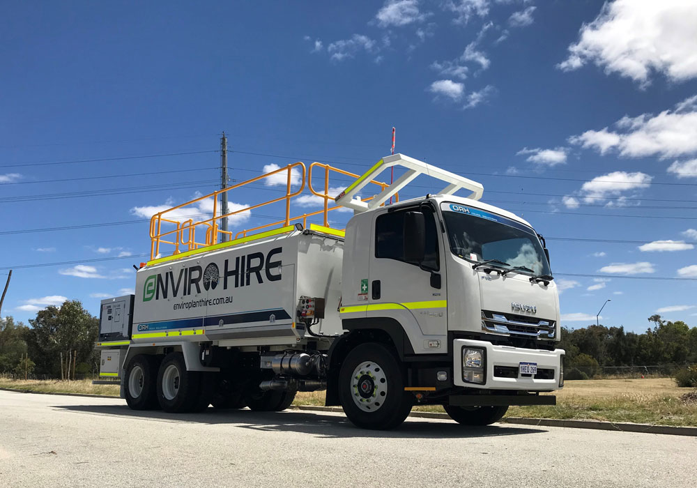 flat bed service truck ST3