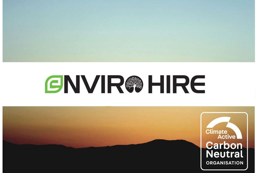 enviro plant hire is a climate active carbon neutral organisation