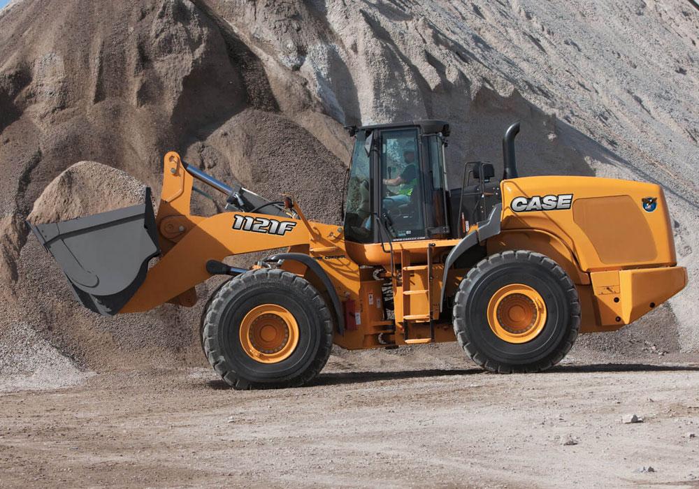 case 1121F wheel loader 27 tonne